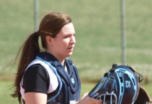 Amber Parrish softball Forlì