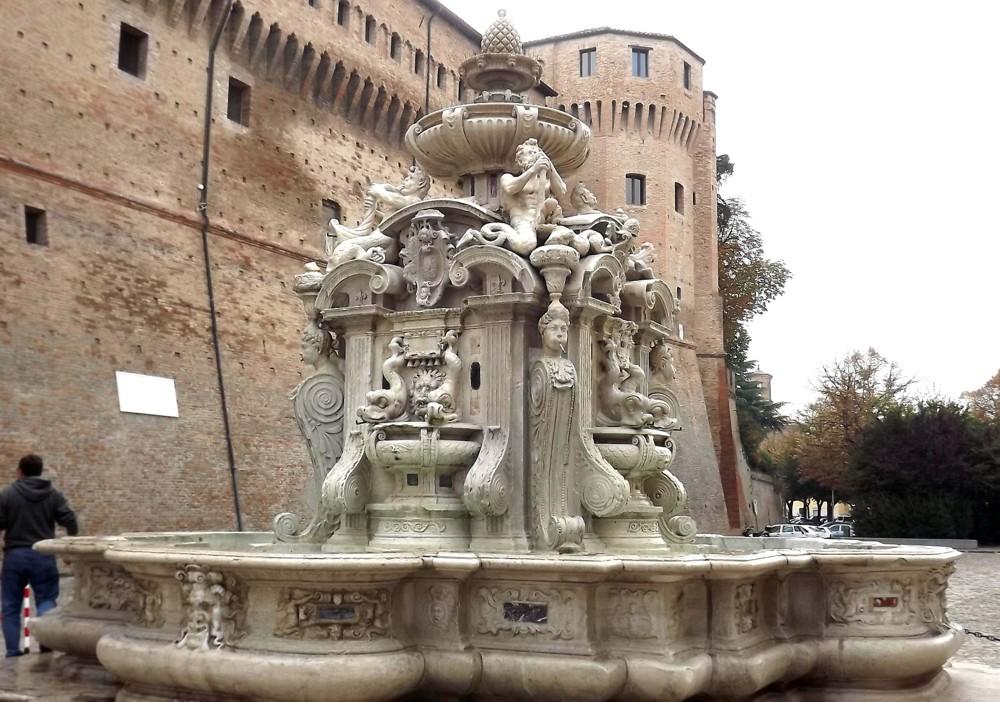 La fontana del Masini a Cesena una delle più belle fontane ...