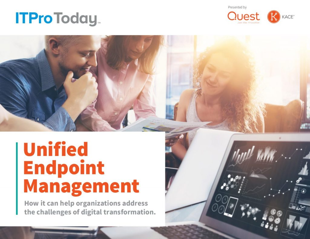 Unified Endpoint Management (UEM): How it Can Help Organizations Address The Challenges of Digital Trasformation