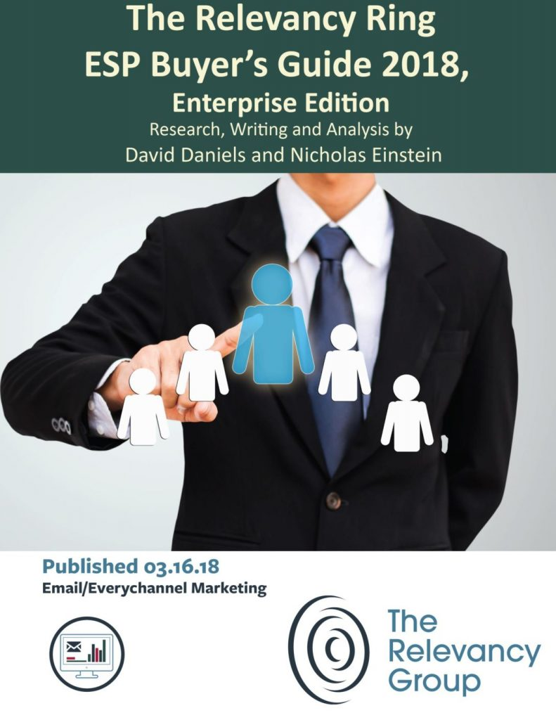 The Relevancy Ring – ESP Buyer's Guide 2018, Enterprise Edition