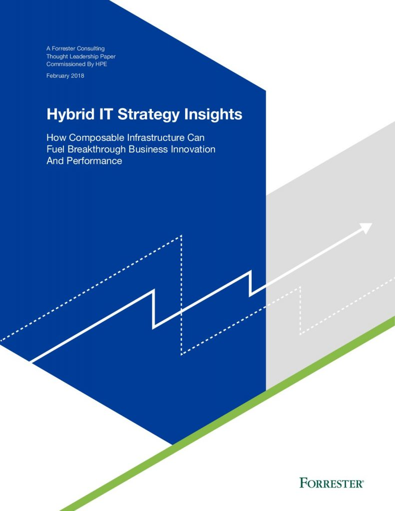 Forrester: Hybrid IT Strategy Insights: How Composable Infrastructure can fuel breakthrough business innovation and performance