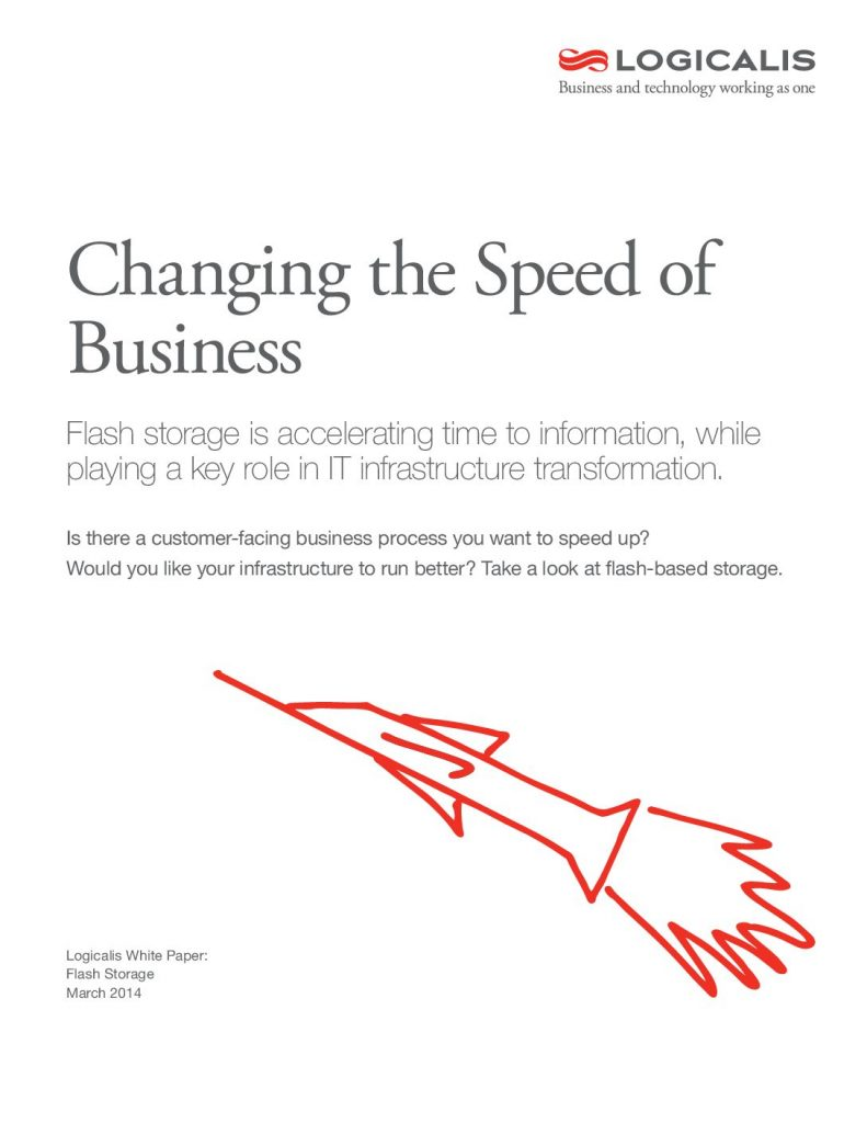 Changing the Speed of the Business