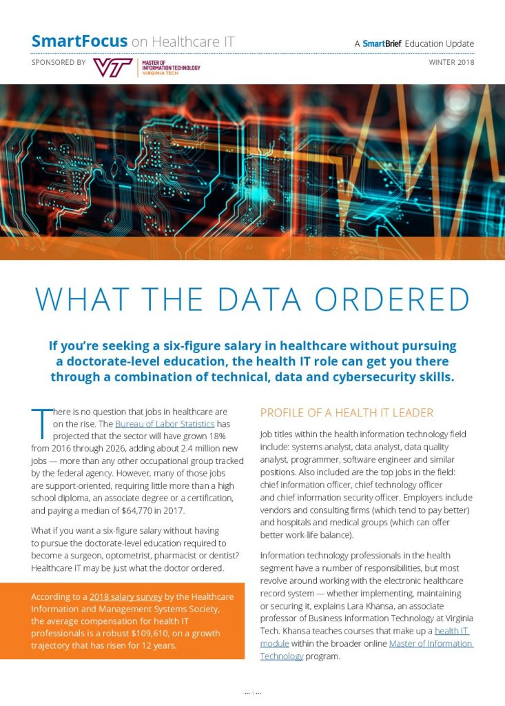 SmartFocus on Healthcare IT: Skills Required for Health IT Roles
