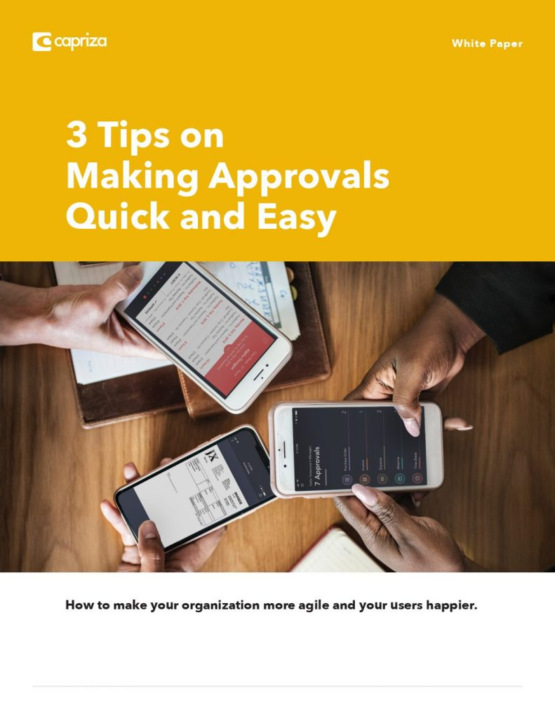 3 Tips on Making Approvals Quick and Easy