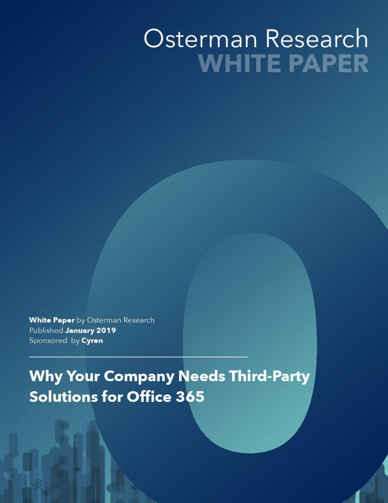 Why Your Company Needs Third-Party Solutions for Office 365