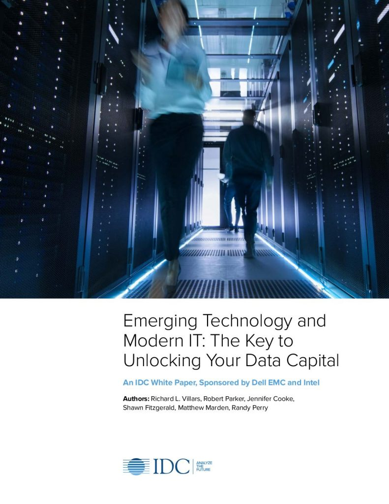 Emerging Technology and Modern IT – The Key to Unlocking Your Data Capital