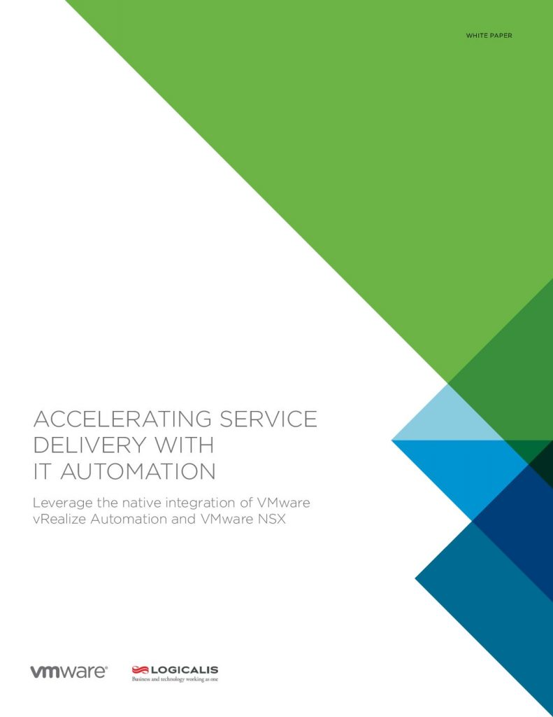 Accelerating Service Delivery with the IT Automation