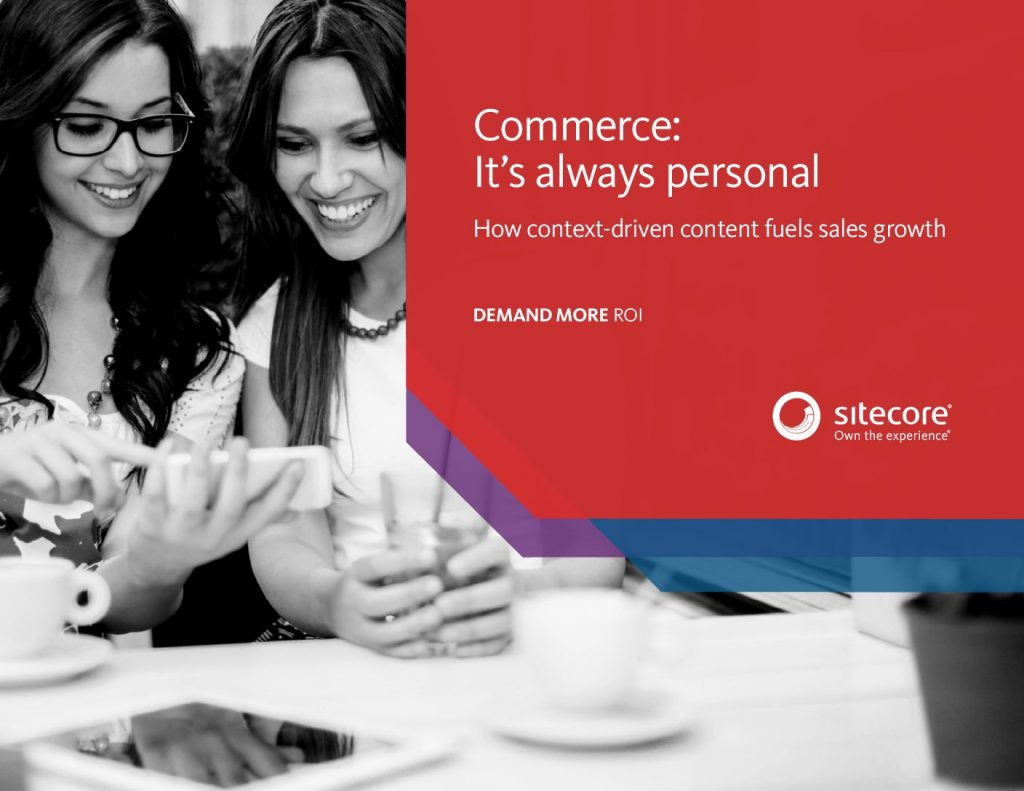 Commerce: It's always personal