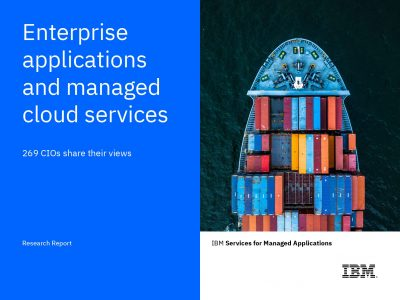 Enterprise Applications  and  Cloud Managed Services:  269 CIOs Share their Views