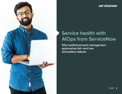 EB Service health with AIOps from ServiceNow