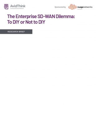The Enterprise SD-WAN Dilemma: To DIY or Not to DIY