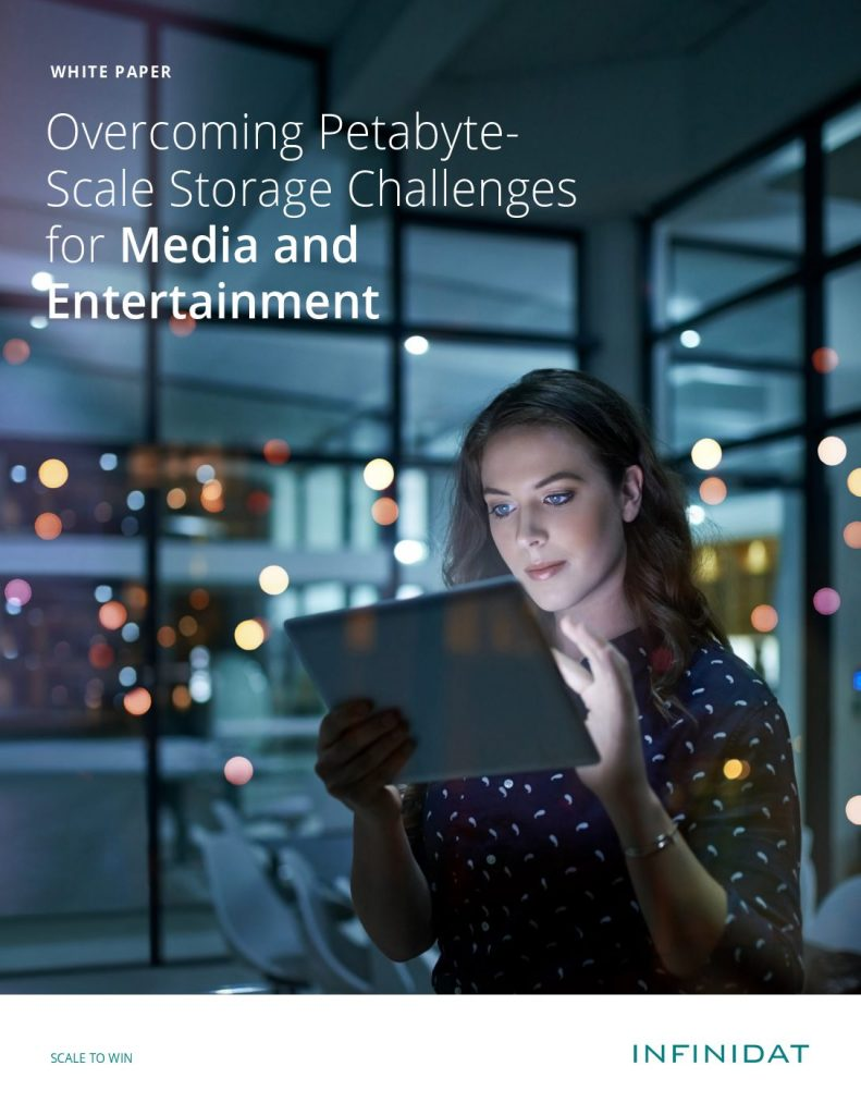 Overcoming Petabyte Scale Storage Challenges for Media and Entertainment