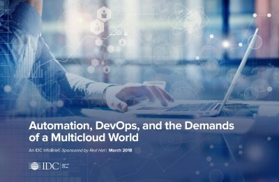 Automation, DevOps, and the Demands of a Multicloud World