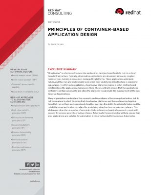 Principles of Container-Based Application Design
