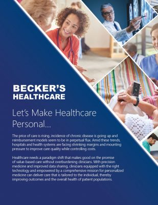 Let's Make Healthcare Personal