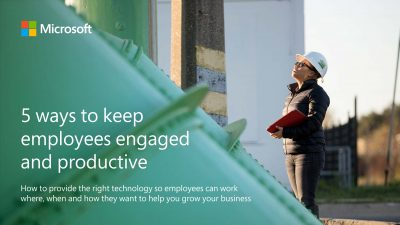 5 Ways to Keep Your Employees Engaged and Productive
