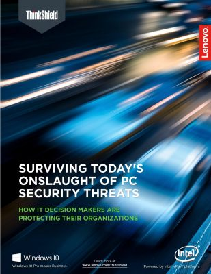 SURVIVING TODAY'S ONSLAUGHT OF PC SECURITY THREATS
