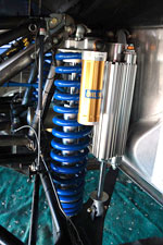 baja 1000 trophy truck shock detail