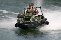 quadski amphibian all terrain vehicle and jet ski all in one out on the water