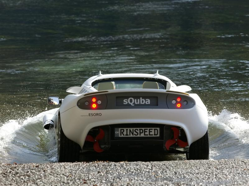 The SQuba Submersible Sports Car - Cool cars in real life
