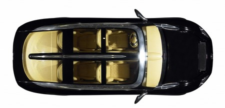 Spyker D12 Super Sport Utility Vehicle view from overhead