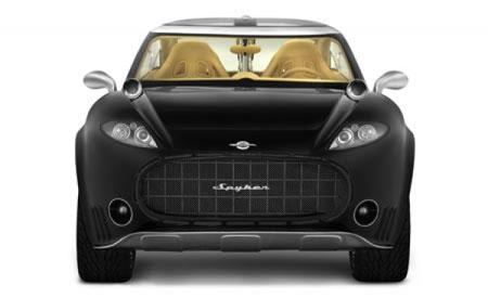 Spyker d12 peking to paris super sport utility vehicle front view