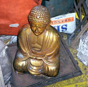 Golden Buddha allegedly found by Rogelio Roxas