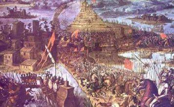 The fall of tenochtitlan to tenochtitlan · Montezuma