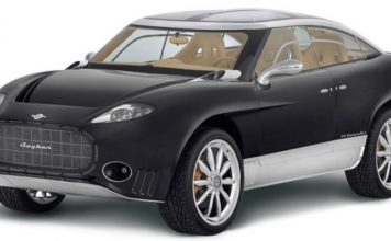 Spyker D12 Peking-to-Paris offroad racer