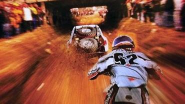 Motorcycle and Truck racing at Baja 1000