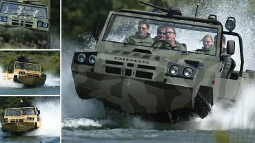 Humdinga Amphibious Vehicle