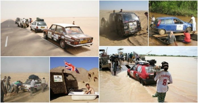 Africa Rally Collage