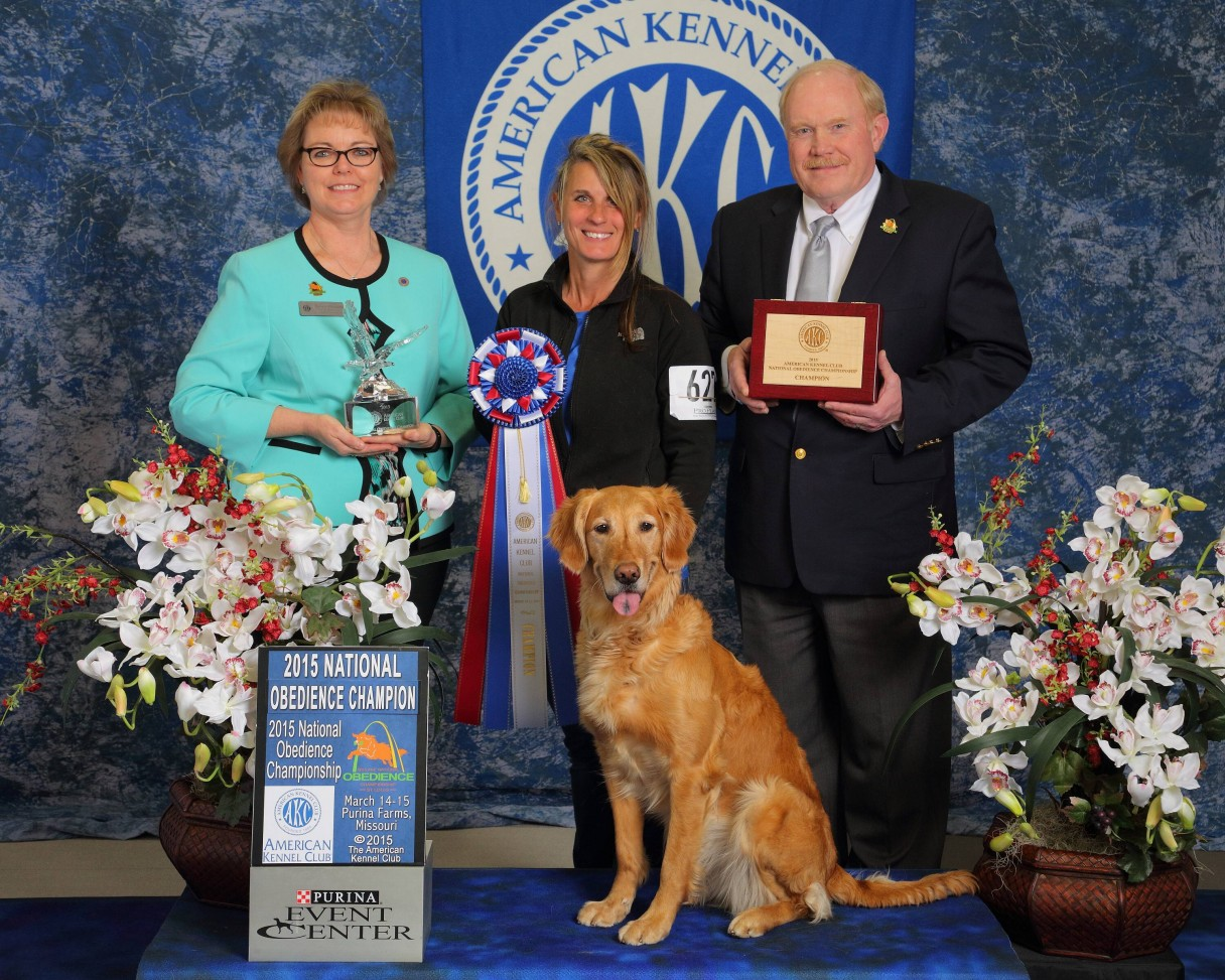 2015 National Obedience Champion