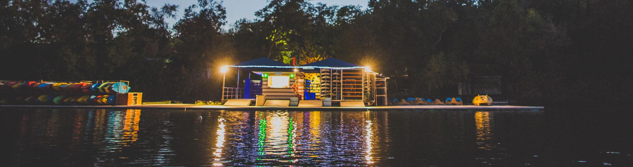 Rowing dock