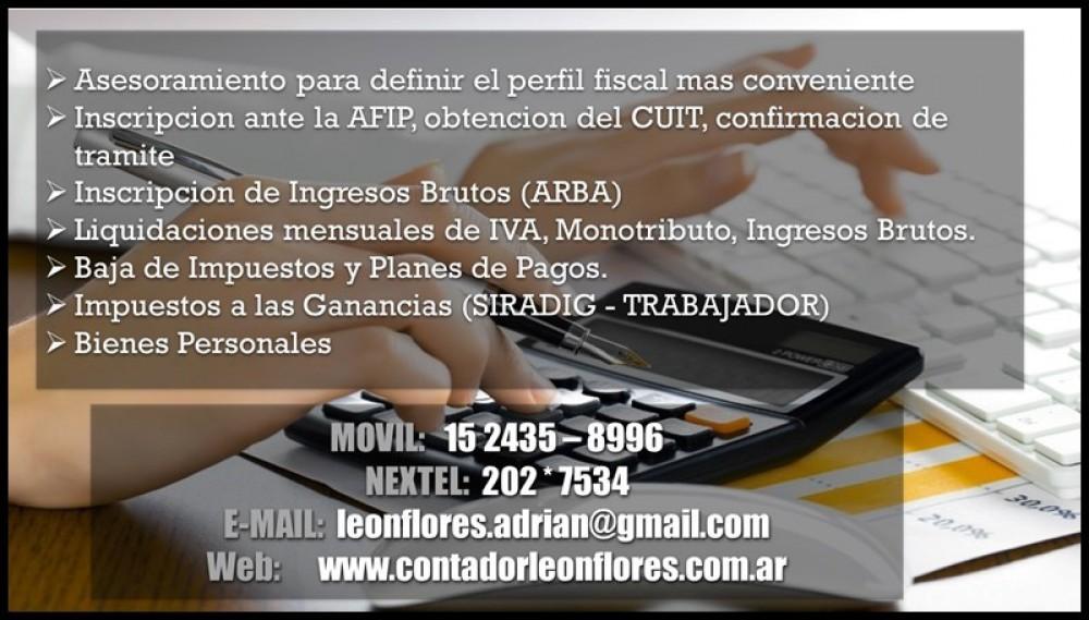 Contador publico mundo hurlingham for Inscripcion ingresos brutos