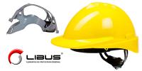 Casco de seguridad LIBUS, cumple con normas IRAM.- Colores Verde, Blanco, amarillo, rojo, naranja, azul