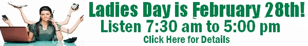 Ladies Day Banner Ad