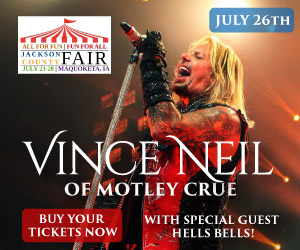 Vince Neil with Hells Bells