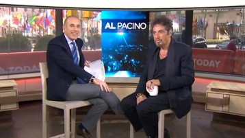 Al Pacino on Today