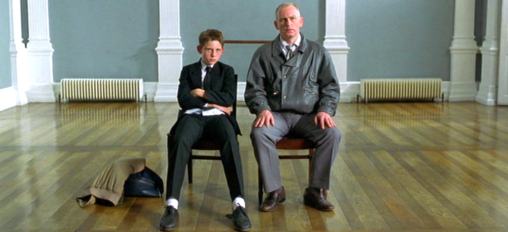 Jamie Bell and Gary Lewis in Billy Elliot