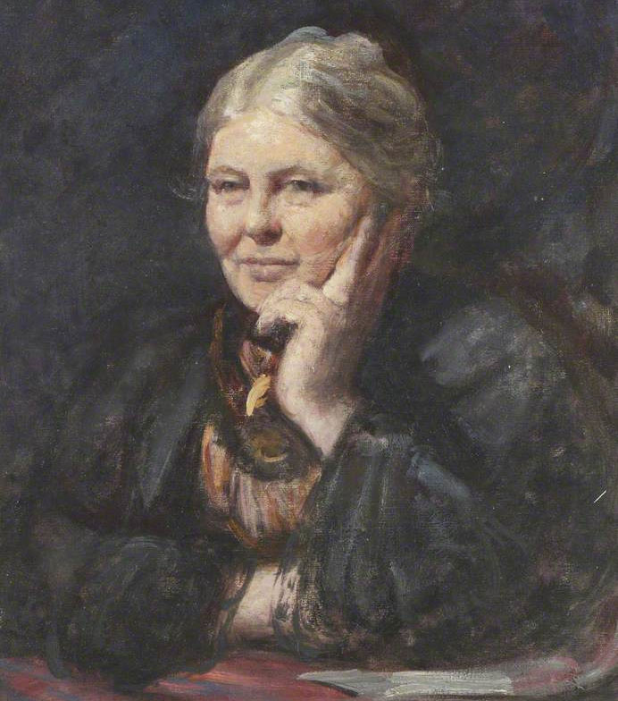 Charlotte Mason (painted by Frederic Yates)