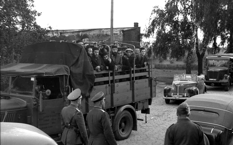 Jews arrested in Poland by the SD