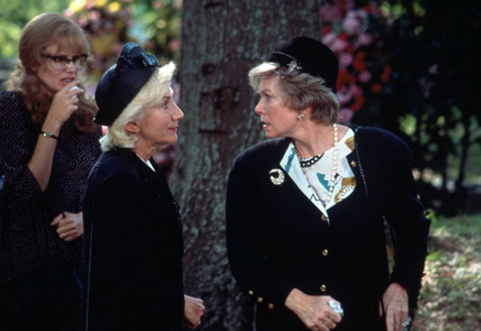 Daryl Hannah, Olympia Dukakis, and Shirley MacLaine in Steel Magnolias