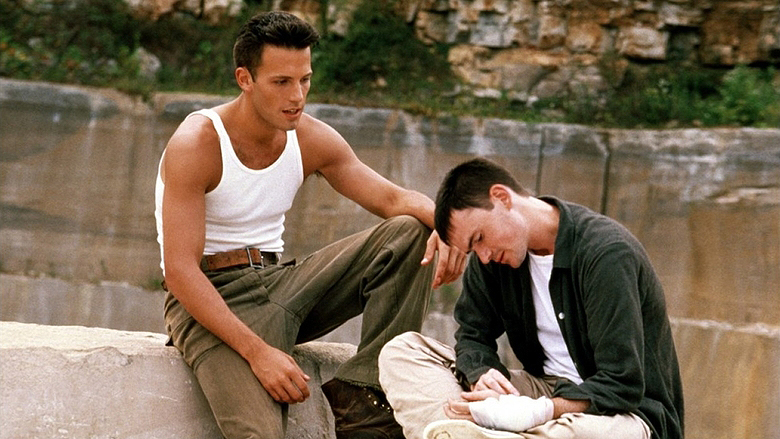 Ben Affleck and Jeremy Davies in Going All The Way