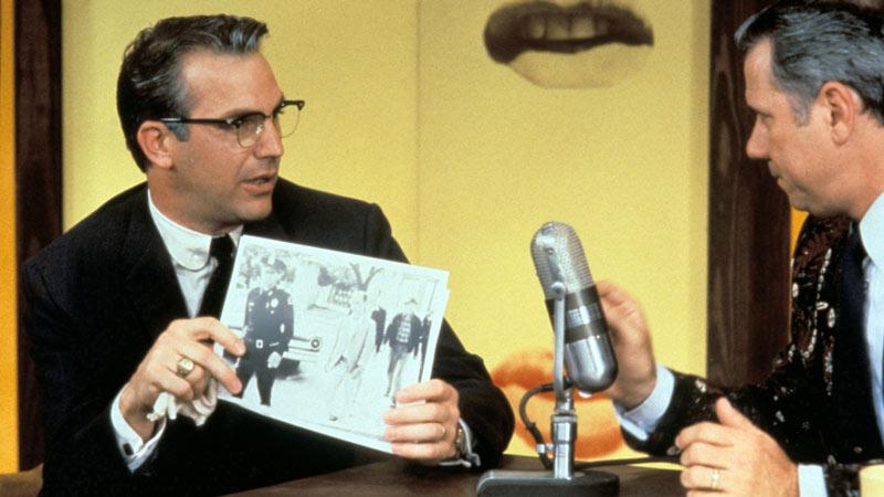 Richardson weaves together all media in [em]JFK[/em]