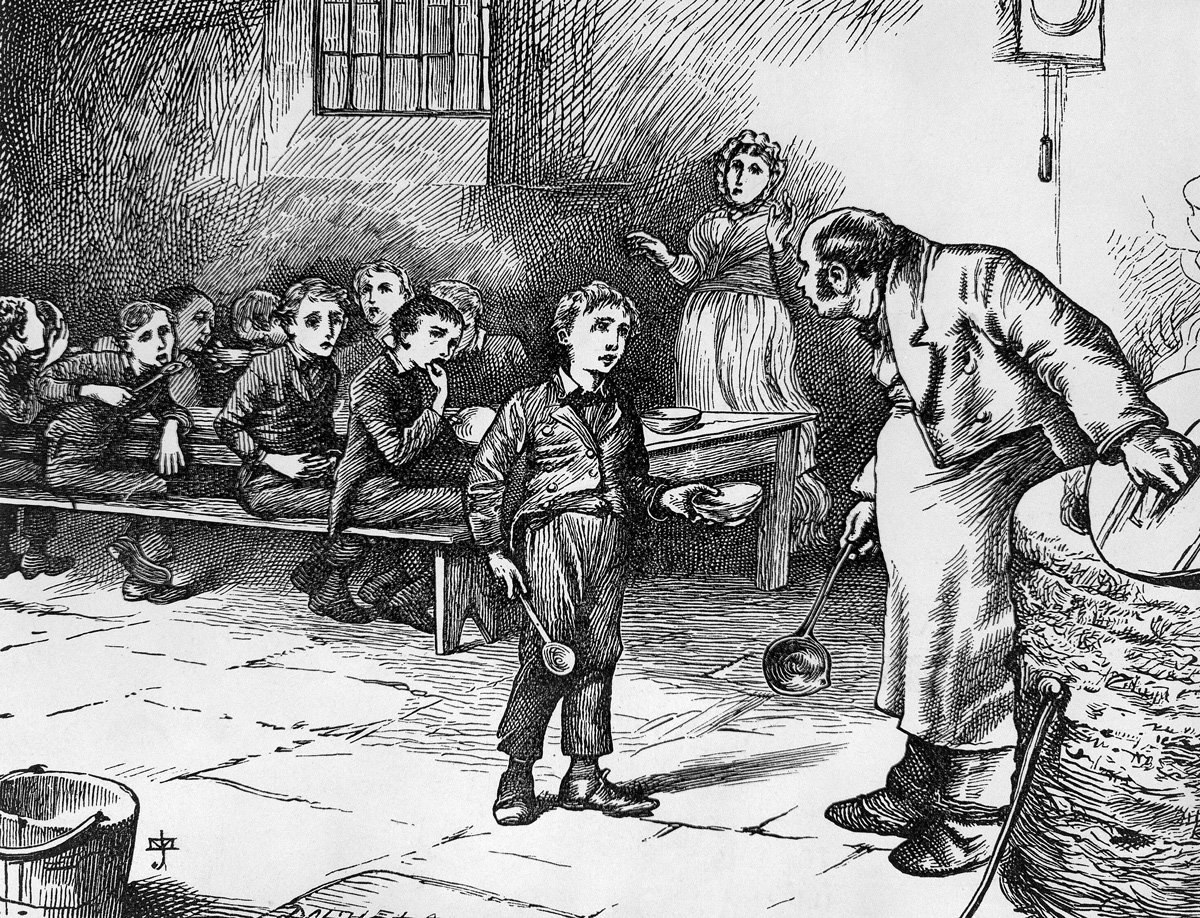 The world of Oliver Twist