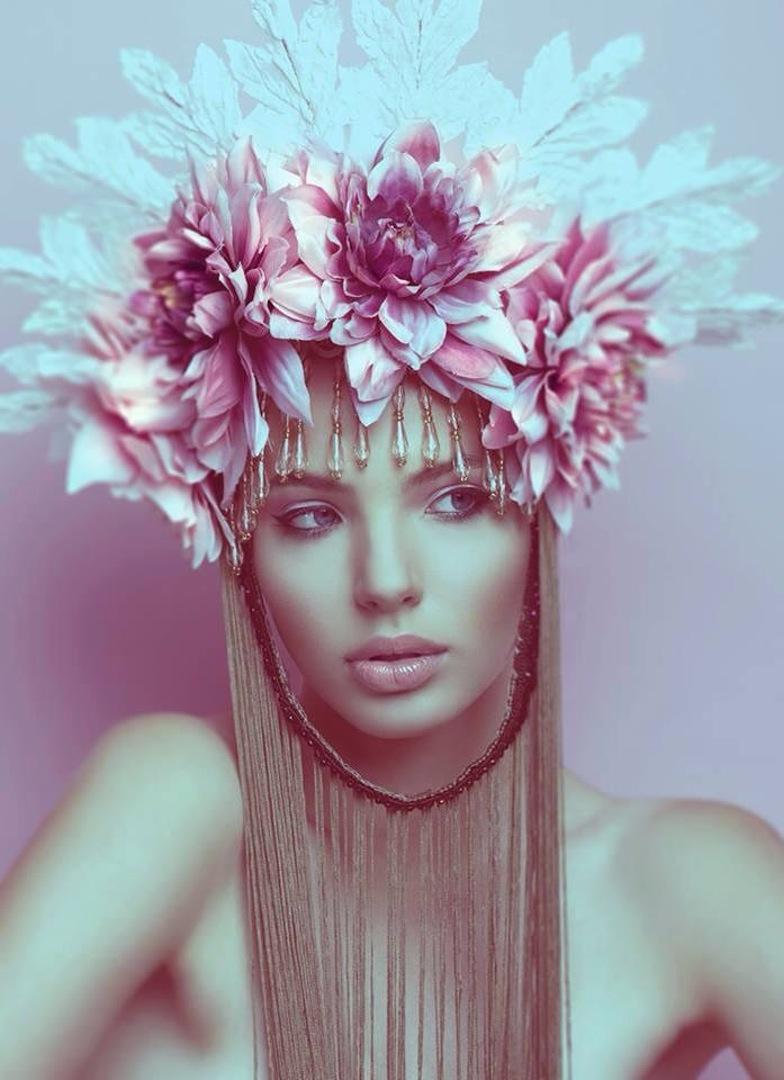 makeu-up-daiva-mazrimiene model-emilija-budginaite makeup color model skin eyelashes studio bescouted talent