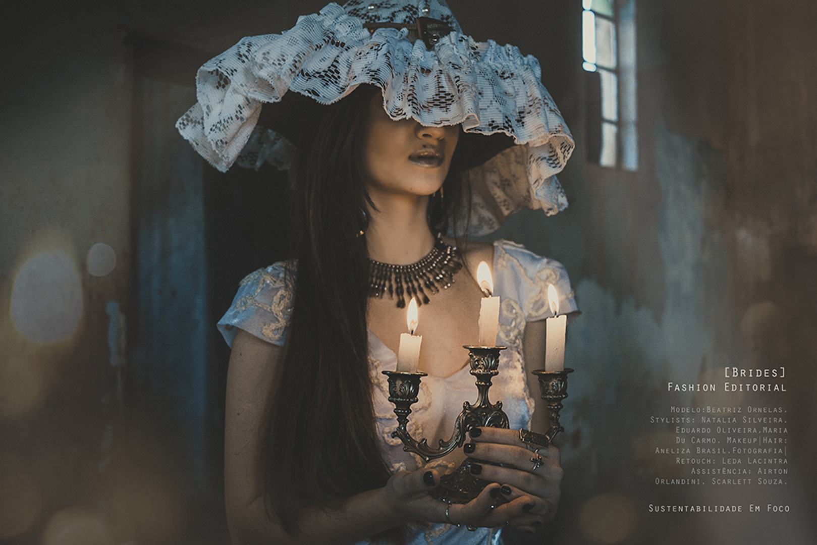photographer-leda-lacintra model-emilija-budginaite makeup color model skin eyelashes studio bescouted talent wedding dress