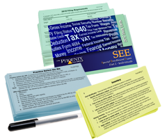Enrolled Agent Exam Study Cards Only