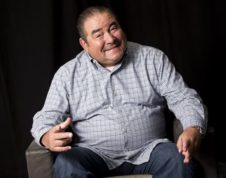 In this Aug. 23, 2016 photo, Emeril Lagasse poses for a portrait in promotion of his new television show 'Eat the World' in New York. The six-part Amazon Prime series is available for streaming Friday, Sept. 2. (Photo by Brian Ach/Invision/AP)